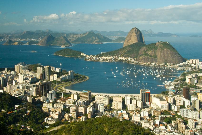 Brasiliens südliche Atlantikküste