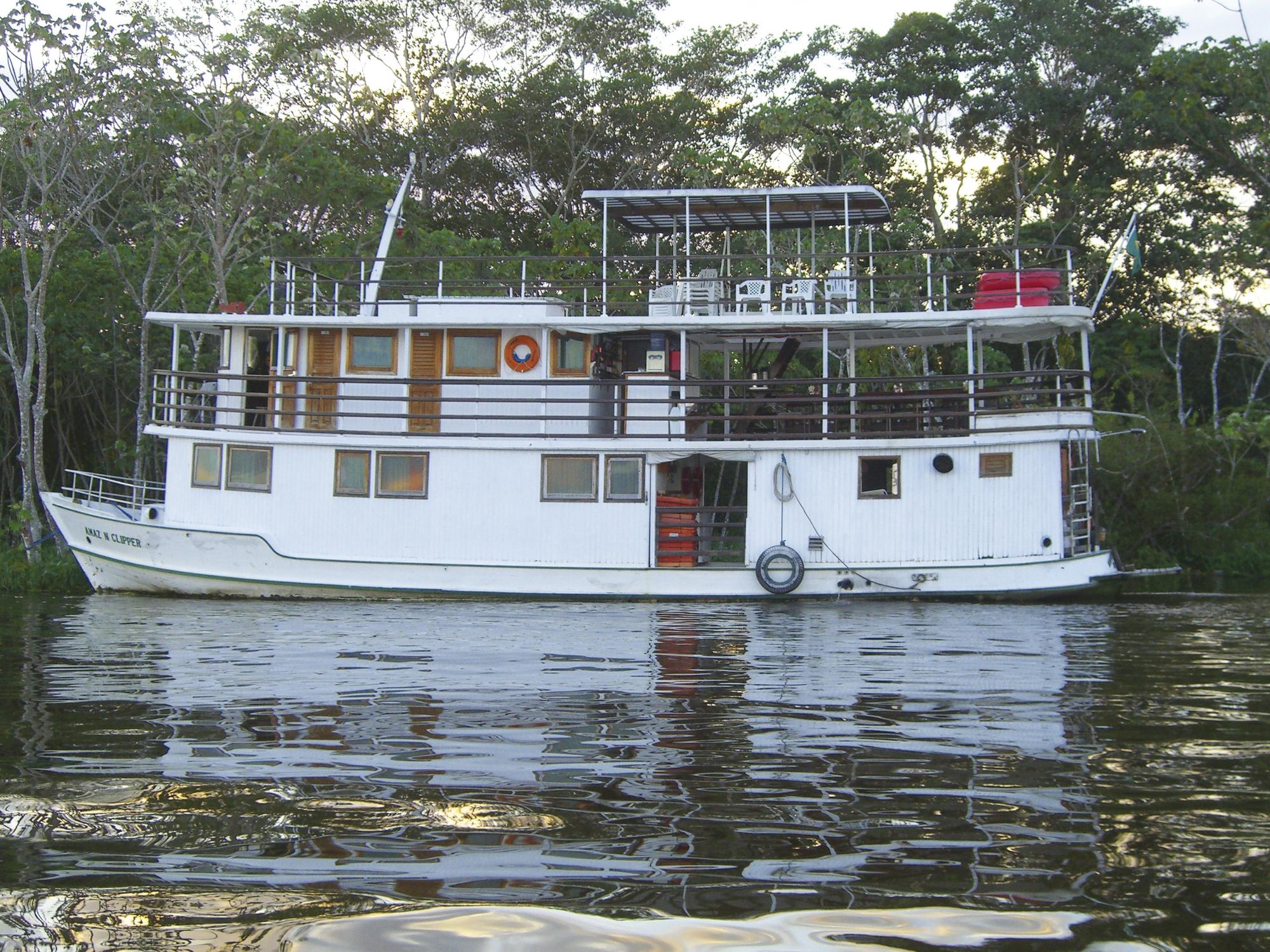 Amazonas-Boots-Expedition