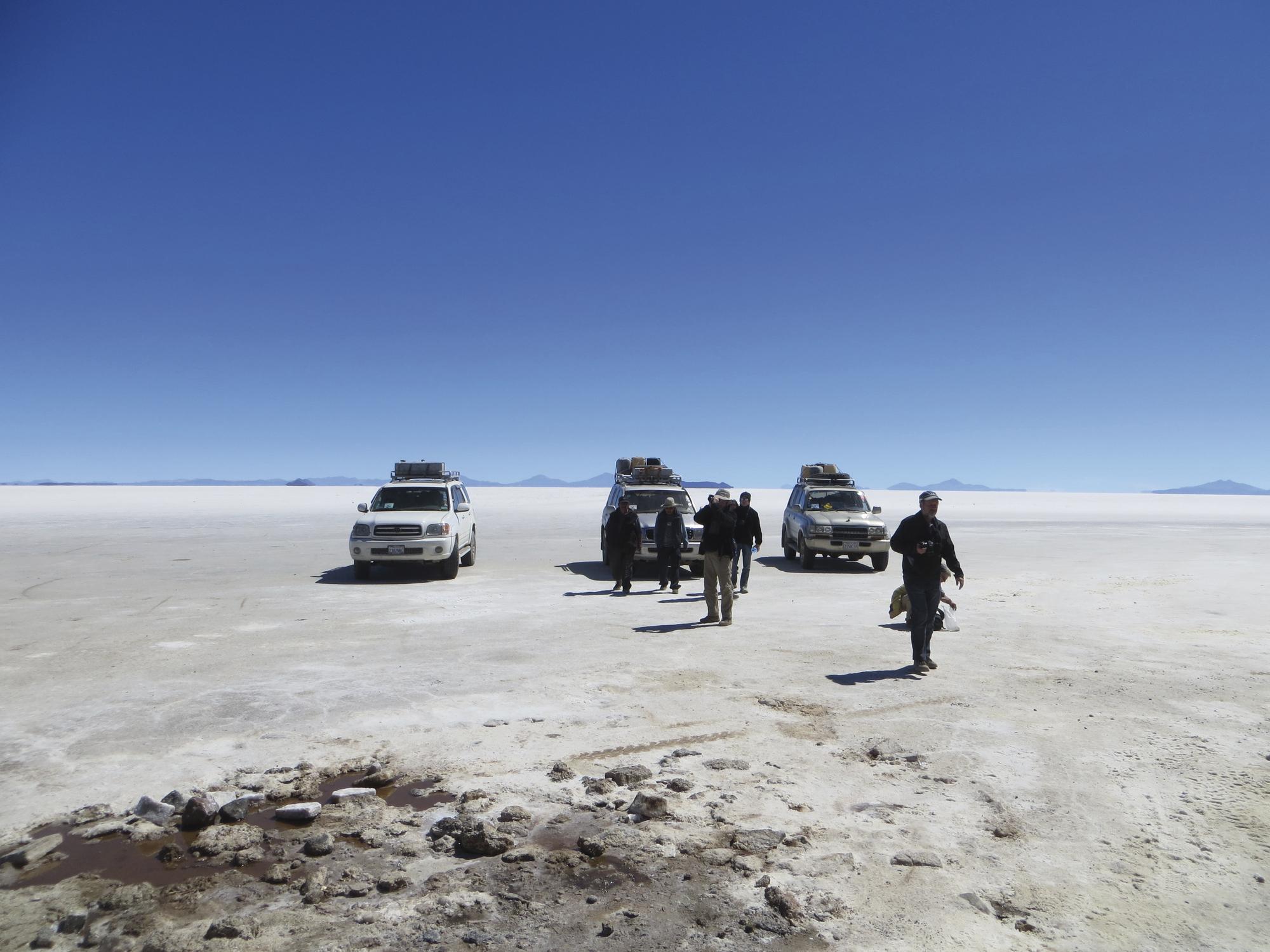 Andendreieck: Argentinien - Bolivien - Chile