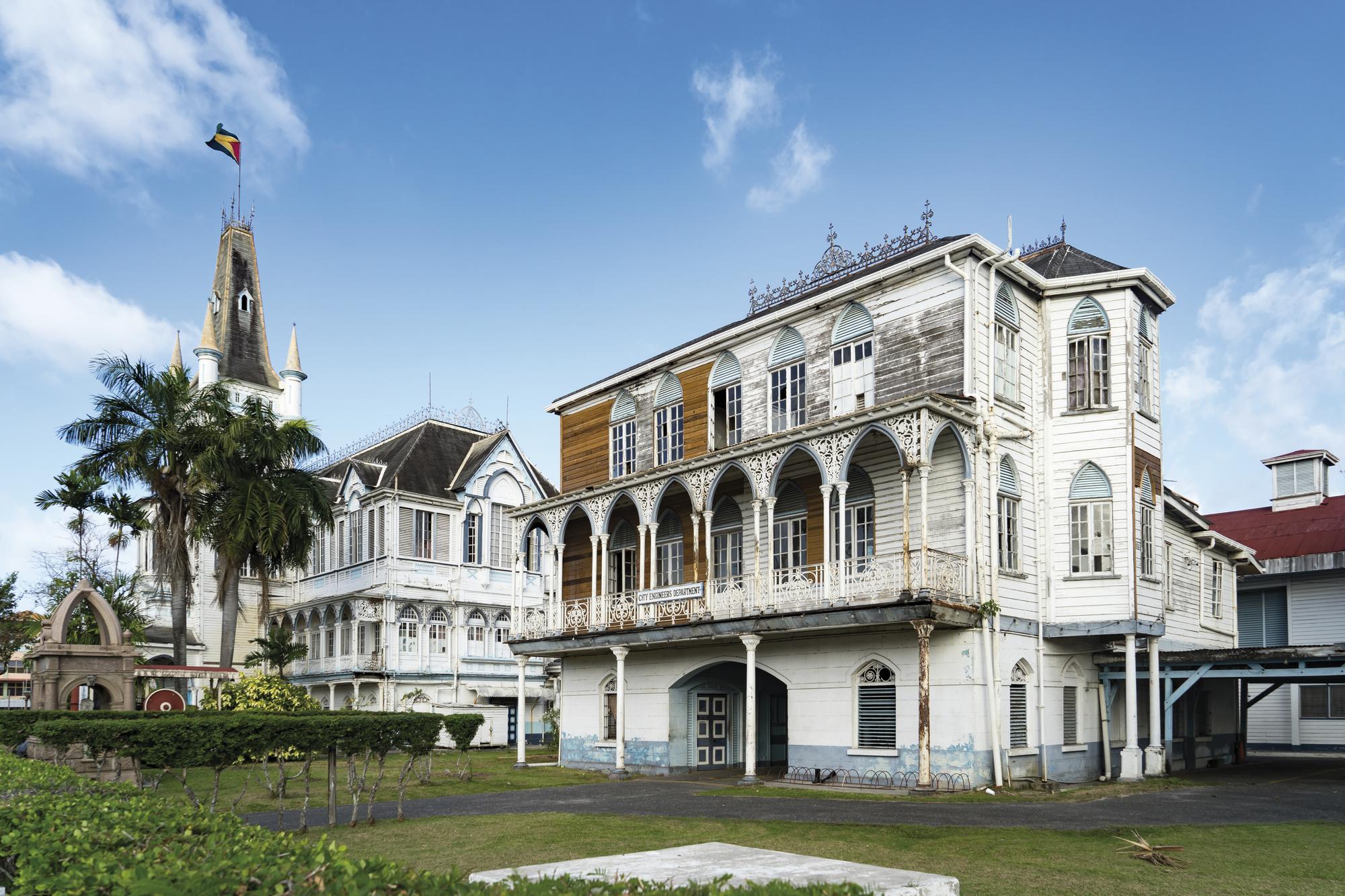 Die drei Guyanas intensiv