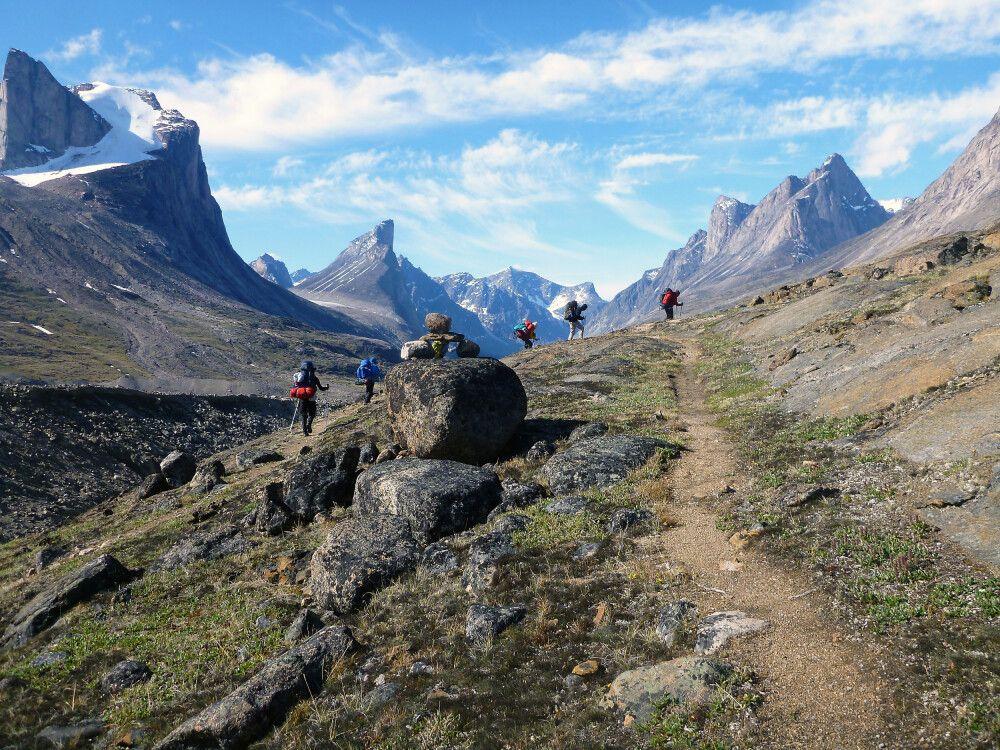 Kanada   Nunavut - Durchquerung des Auyuittuq-Nationalparks