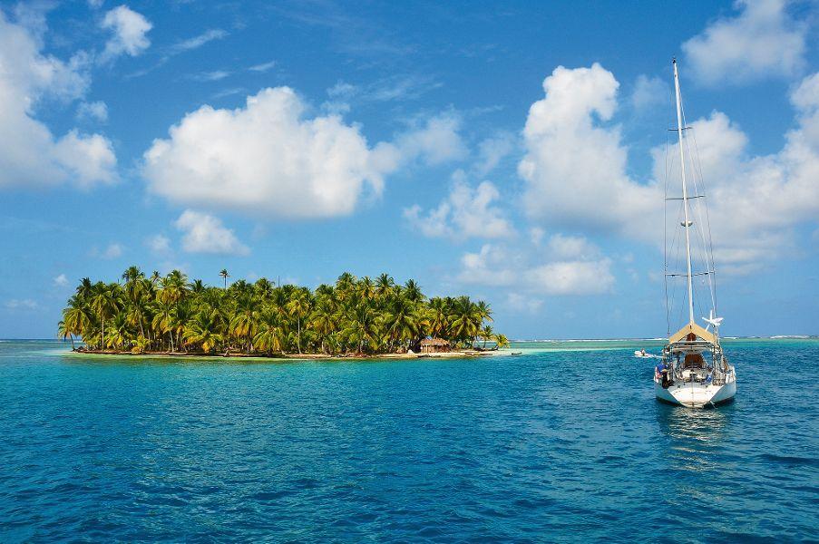 Karibik-Segeltörn: Von Cartagena nach Panama