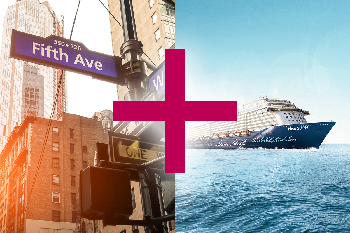 Meeresbrise und New York (12 + 6 Tage)