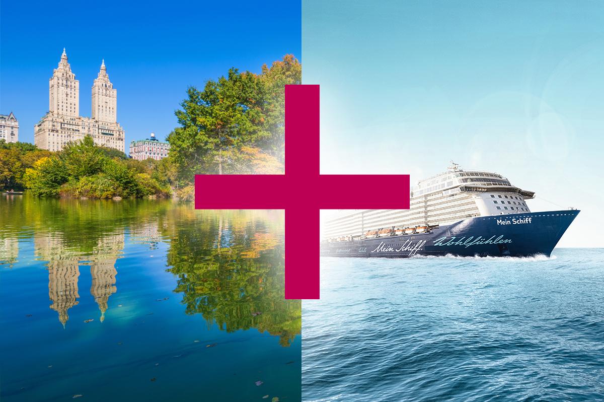 Meeresbrise und New York (13 + 6 Tage)