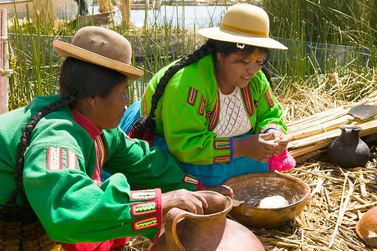 Peru  -  vom flüssigen Gold im Land der Inka