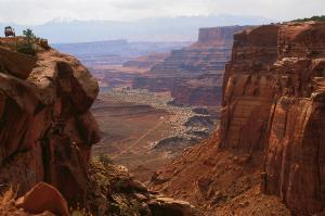 USA  -  Panorama von West nach Ost